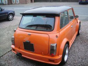 Turbo Kit rear Side Orange 2