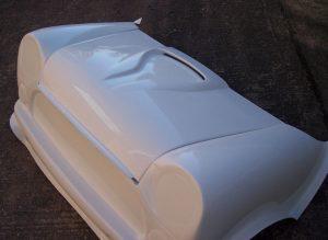 Venom Bonnet Front Angle on 2 piece front