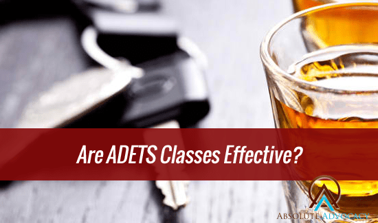 Are ADETS Classes in North Carolina Effective - NC DWI