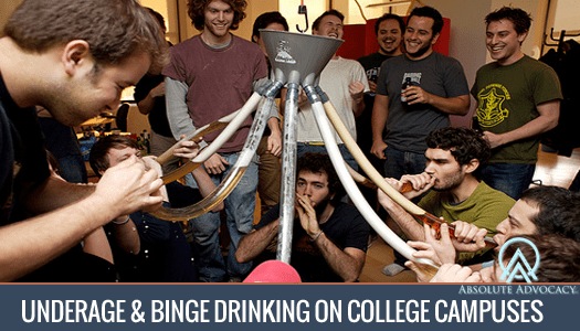 Advocacy On College Campus Binge Absolute Drinking