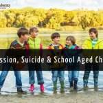 """<div class=""""qa-status-icon qa-unanswered-icon""""></div>Depression, Suicide & School Aged Children"""