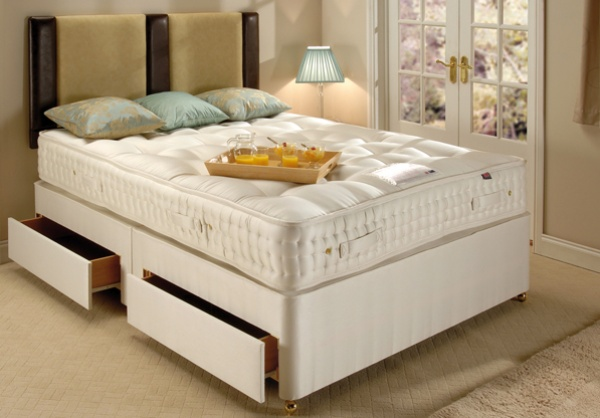 Old English Bed Company Ultimate Cashmere 1400 Pocket Sprung Mattress Line
