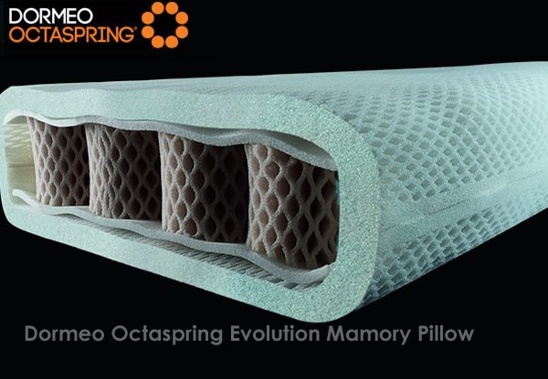 Dormeo Octaspring Evolution Memory Pillow