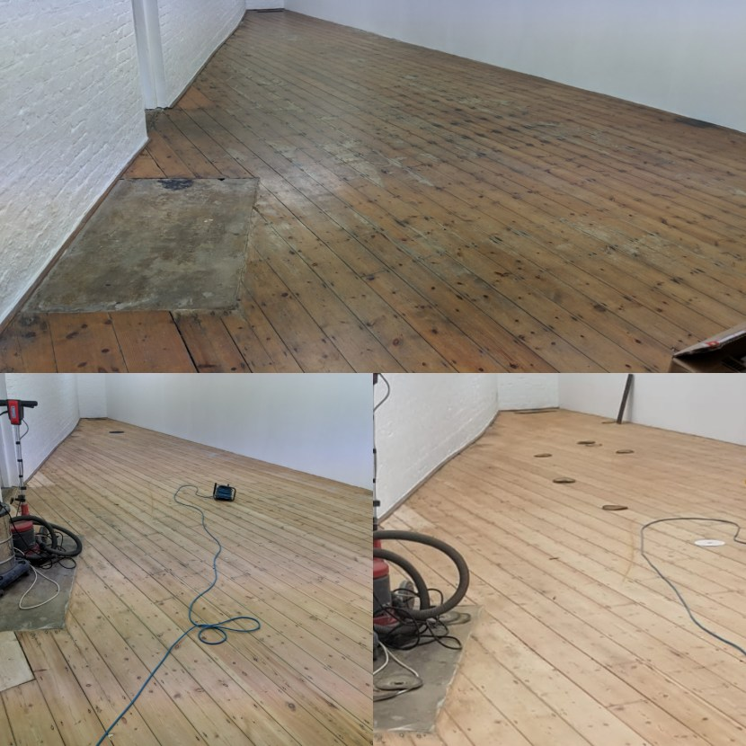 Commercial Floor Sanding in London