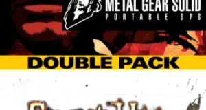 Konami double pack Playstation Portable PSP Metal Gear Solid Portable Ops