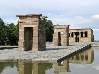el templo de debod El Templo de Debod