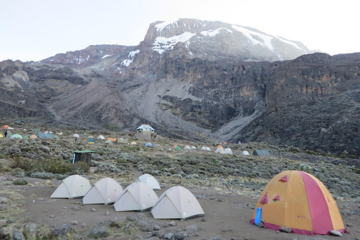 Machame Route Climbing