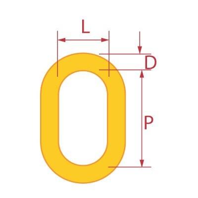 GRADE 80 LARGE OBLONG MASTER LINK series-t-oblong-master-link-drawing