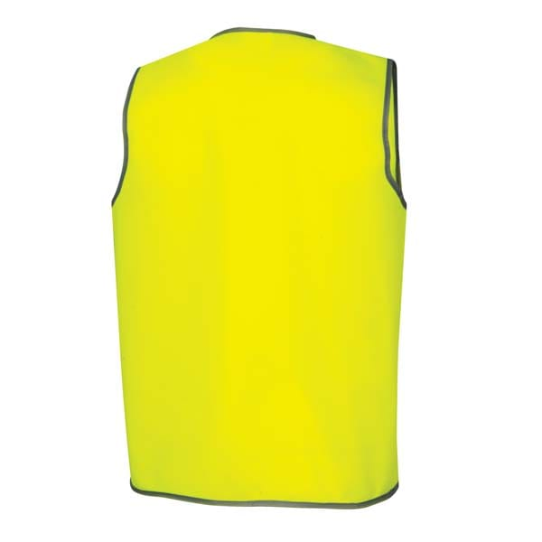 Day Safety Vest - Yellow back
