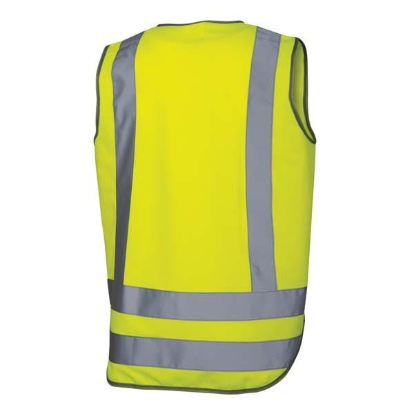 Day and Night Safety Vest - Yellow back