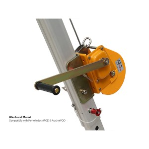 Winch and Mount - IndustriPOD / Arachnipod