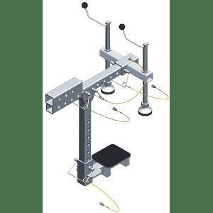 Short Mezzanine C-Clamp Adapter