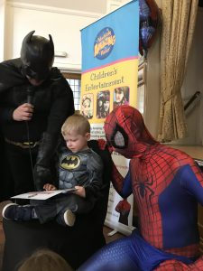 Batman and Spider Man | Party Entertainment