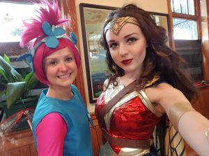 Great Central Railway Poppy and Wonder Woman