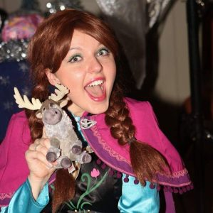 Princess Anna from Frozen Birthday Entertainment
