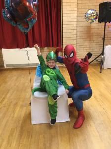 Spider Man Themed Party Mansfield