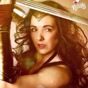 Wonder Woman Party Mascot Nottingham