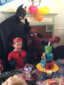 Batman and Spider Man | Quorn
