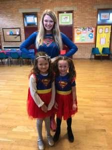 Super girl party Derbyshire