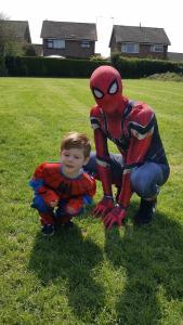 Spider Man and Little Spider Man