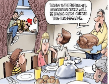 Undocumented Thanksgiving Guests