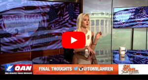 "Tomi Lahren's Red, White, Blue & Unfiltered Final Thoughts the Slaughter of 4 Marines by Another ""Mohammad"" Americaonpoint"