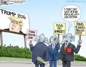 GOP Trump Problem