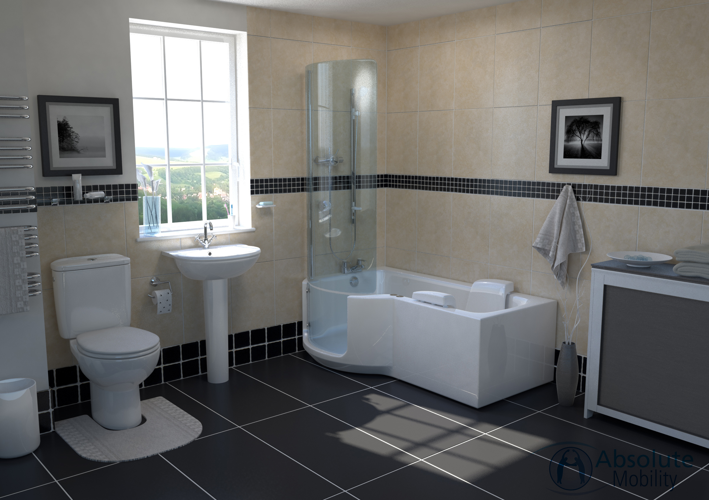 Louisiana Walk In Shower Bath Supply Install Absolute