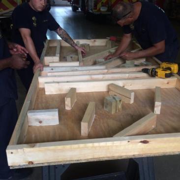 lifting-maze-extrication-Cincinnati Heavy Rescue 9-DIY