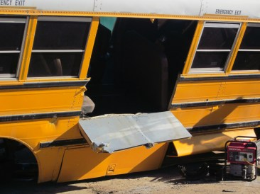 School Bus Extrication-Sidewall Egress