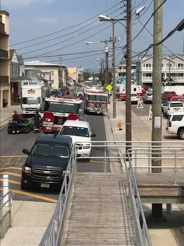 Moreys Surfside Pier for a technical rescue (3)