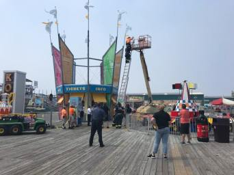 Moreys Surfside Pier for a technical rescue (5)