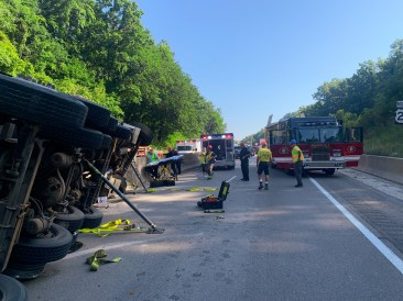 Large Vehicle with Heavy Paratech Hurst WCTRT Entrapment (7)