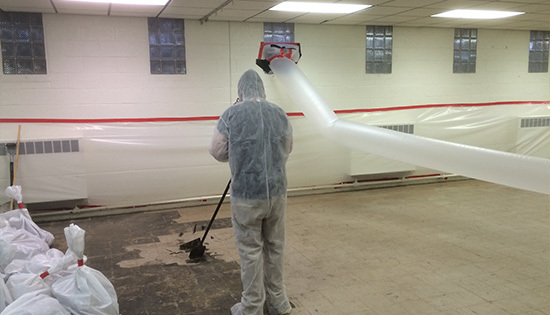 asbestos testing and removal