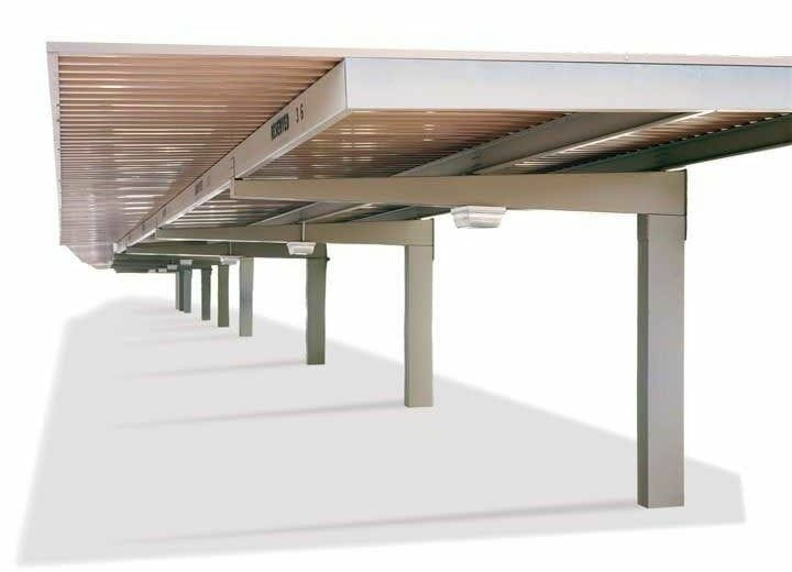 Commercial Carports Full Cantilever Design