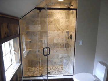Beautiful Custom Framed Glass Shower Doors