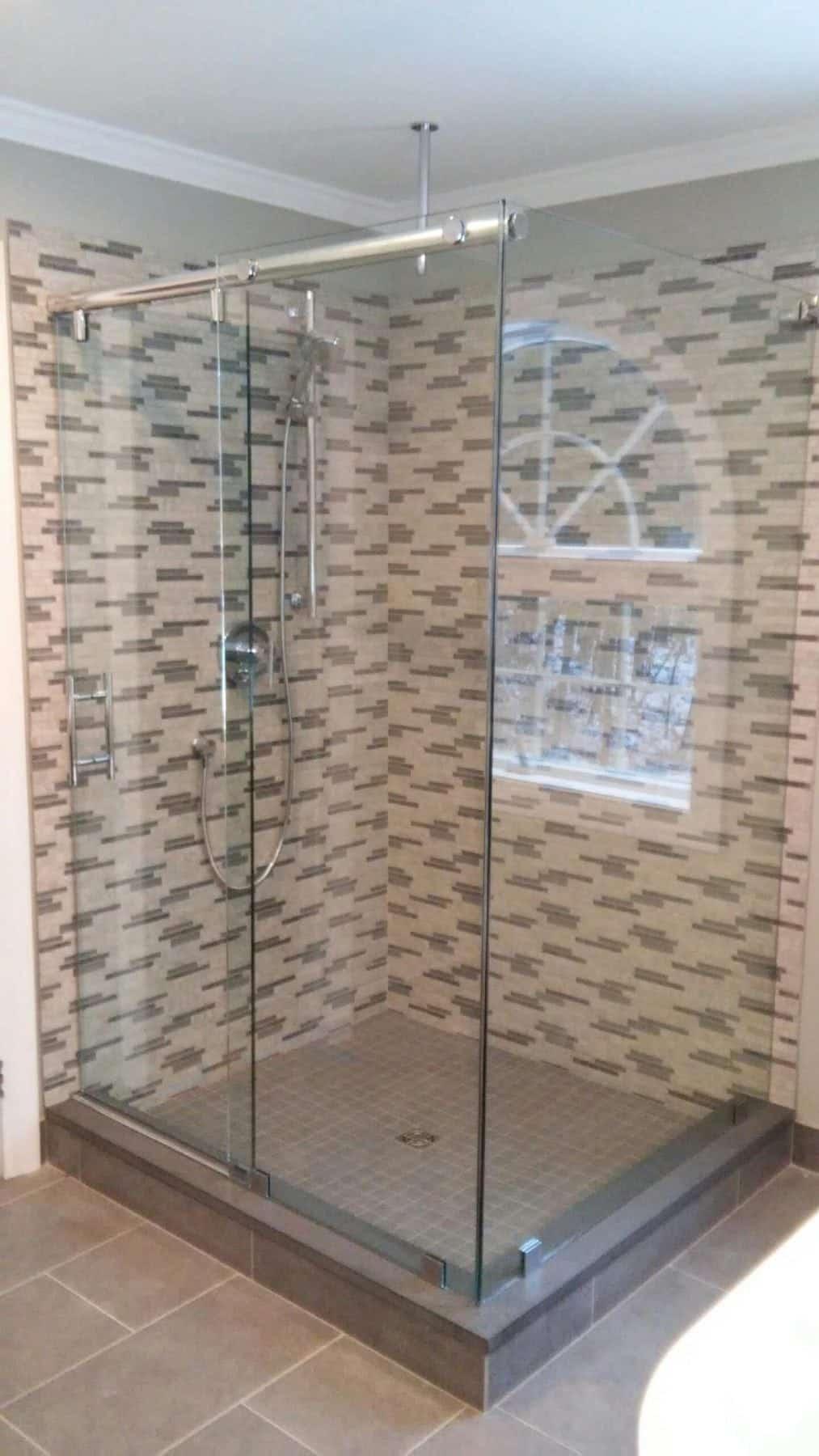 Corner shower enclosure view larger image