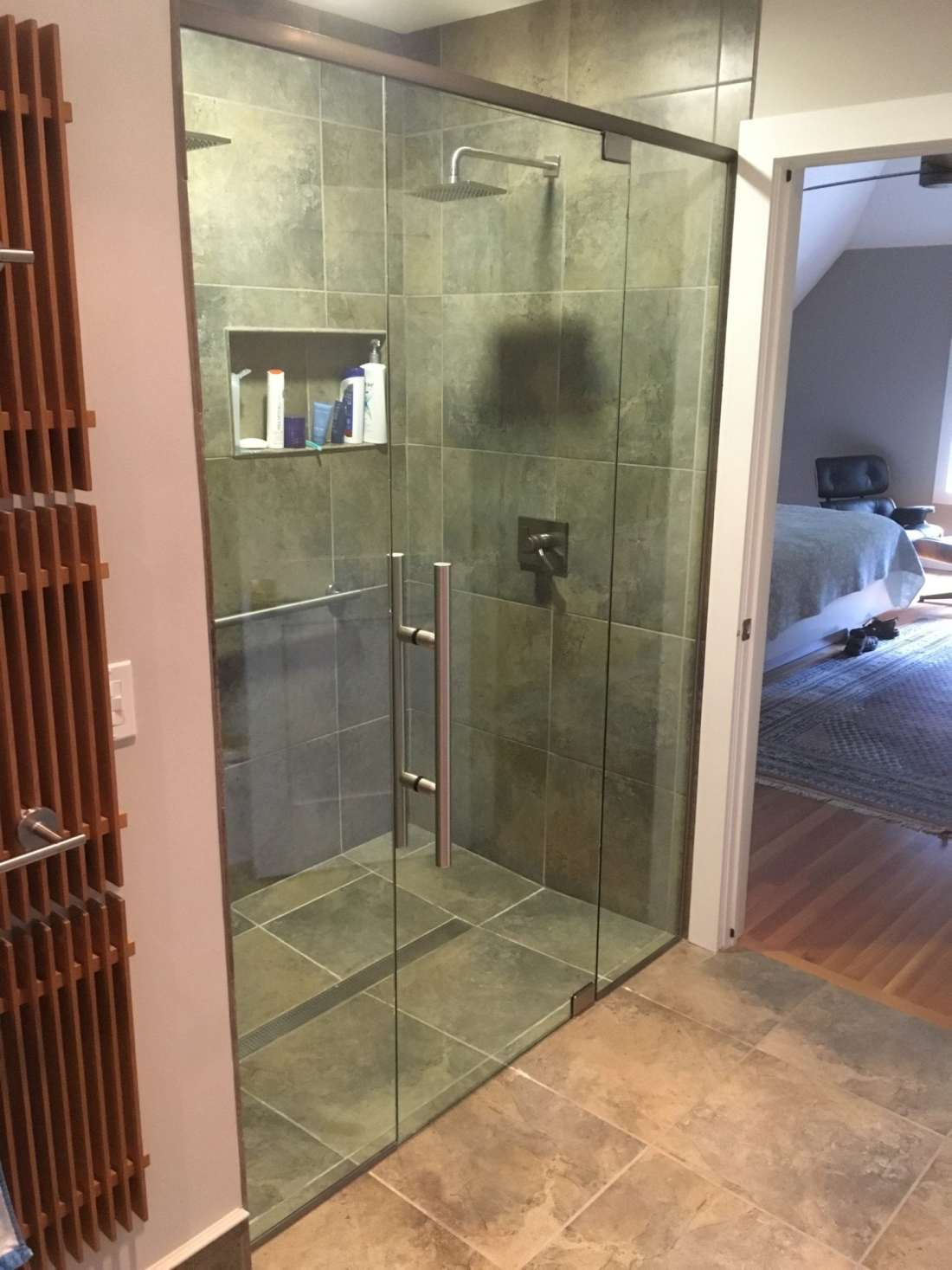 Frameless Shower Enclosure Panel, Door, Panel