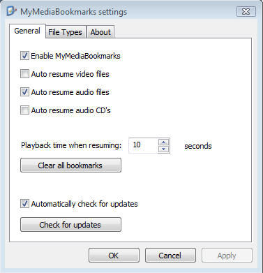 mymediabookmark-settings