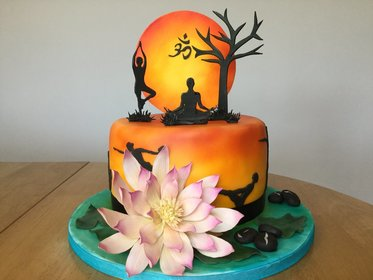Yoga Cake Yoga Life