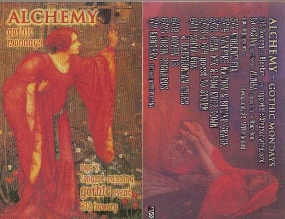 Alchemy / Violent Fix / Vampire Nation / Jenn Vix / Bow Ever