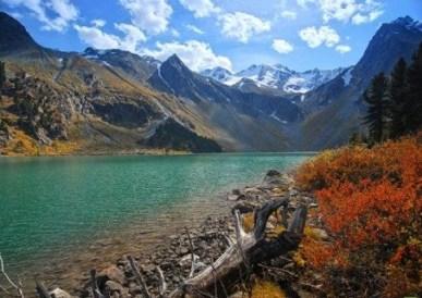 Los montes Altai.