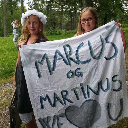 """Vi var på """"Allsang på grensen"""" og fikk se Marcus og Martinus, som vi er stoore fan av!"""
