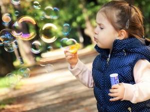 Träume in Seifenblasen