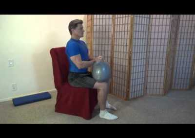Seated Ab Crunches