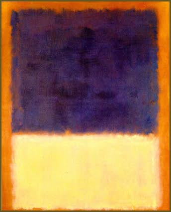 Mark Rothko Red, Orange, Tan and Purple, 1954 Oil on canvas 84 1/2 x 68 1/2 inches (214.5 x 174 cm) Private collection