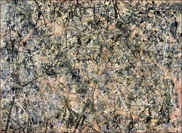 Jackson Pollock - lavander mist