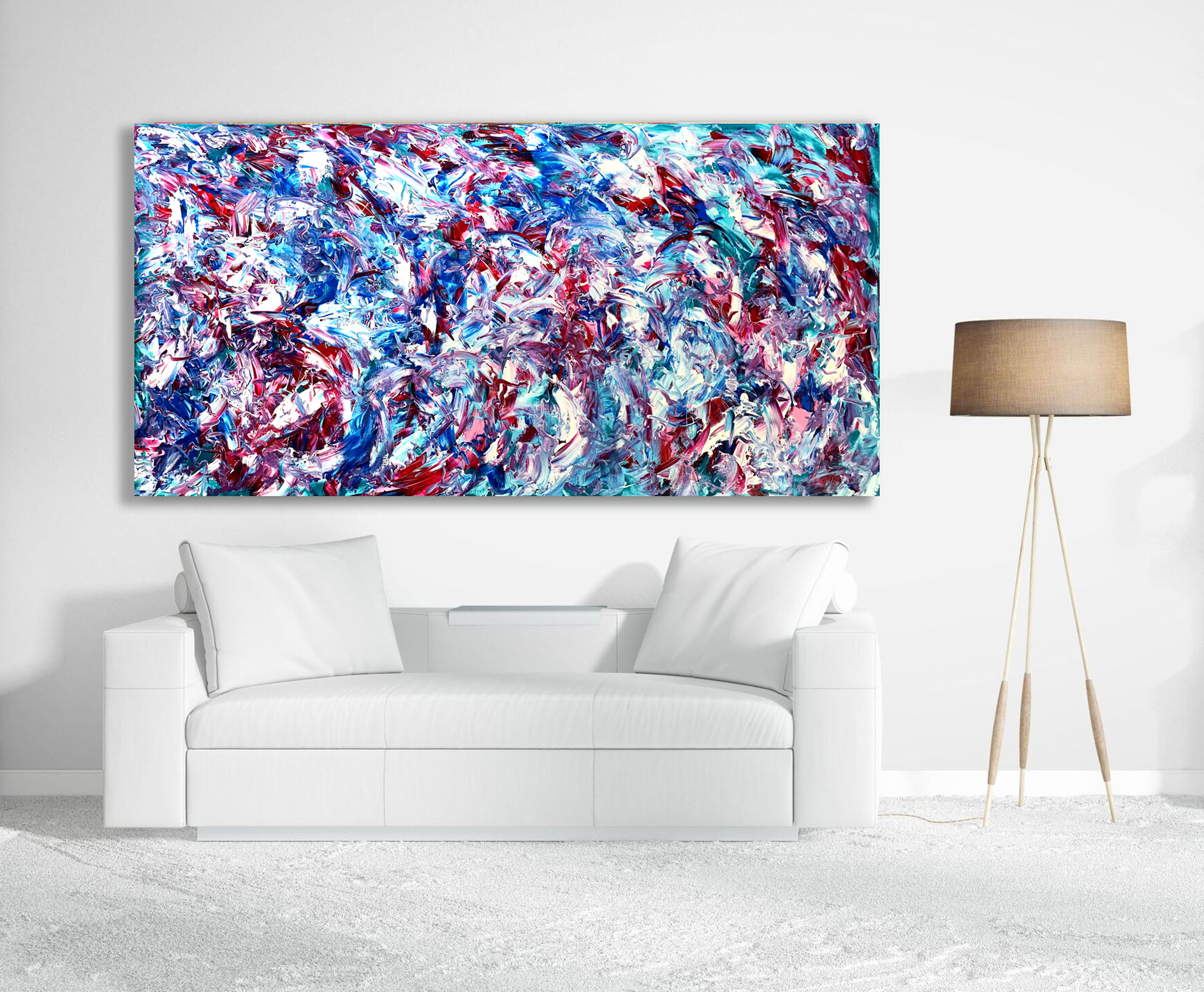 My Surrender - Abstract Expressionism by Estelle Asmodelle
