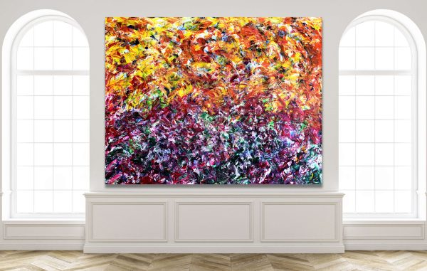 Sunlight Morning - Abstract Expressionism by Estelle Asmodelle