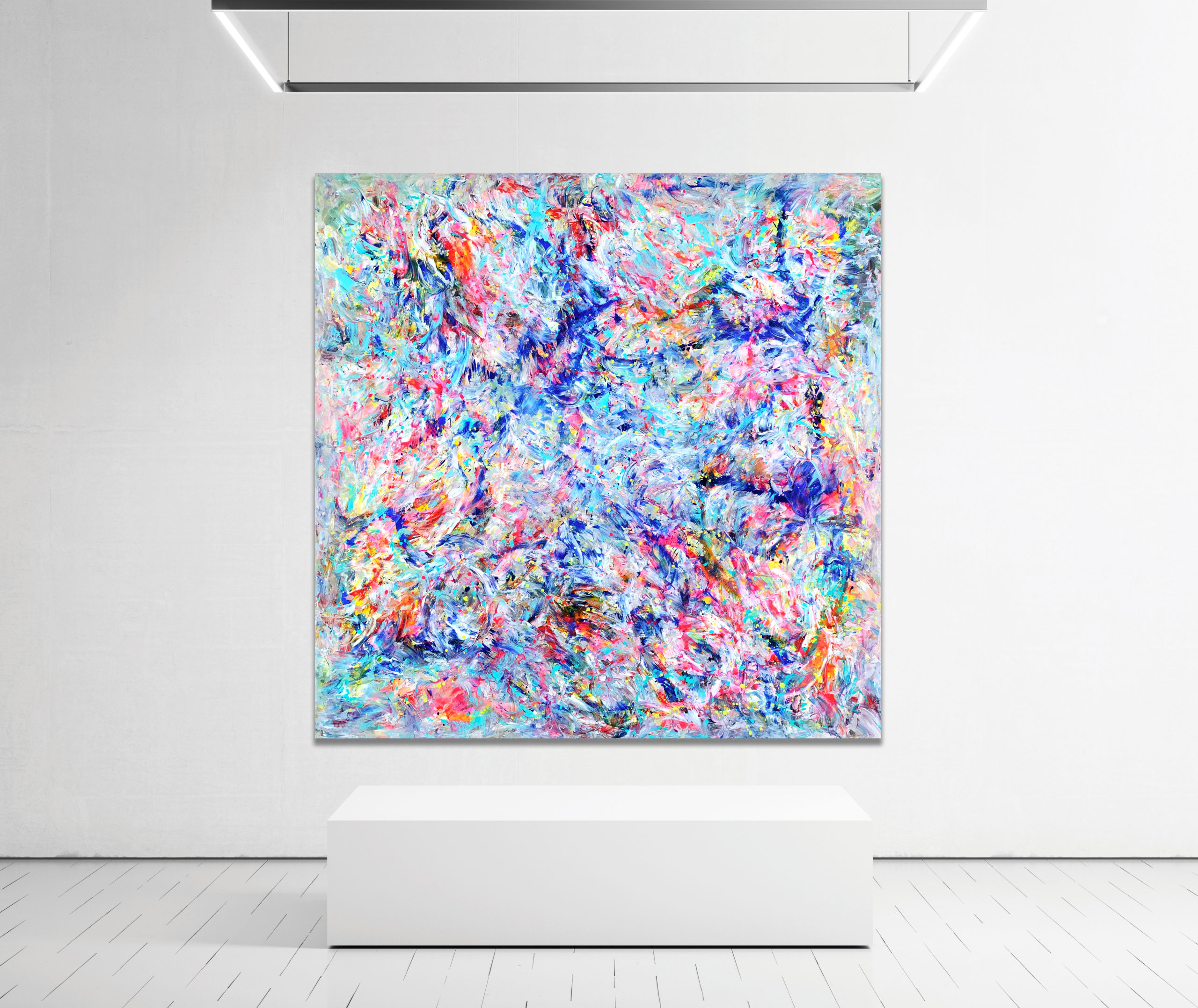 Colour Sanctuary - Abstract Expressionism by Estelle Asmodelle